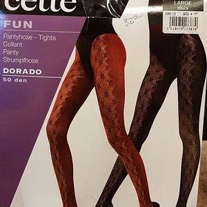 a9207602a Cette FUN Pantyhose-Tights in Black